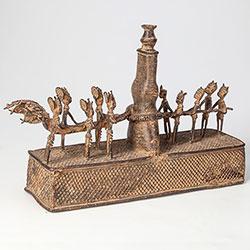 Africká skulptura - IC04659 - Benin