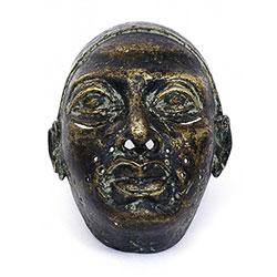 Maska - Afrika - bronz