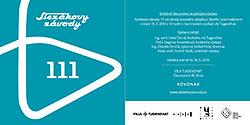 Vernisáž výstavy Slezákovy závody: 111 let výroby kovového nábytku v Bystřici pod Hostýnem