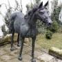 Plastika - koně - bronz